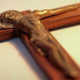 Crucifix Hartmann en palissandre de Rio