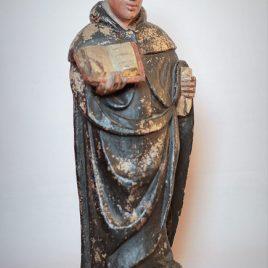 Statue Moine bénédictin