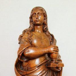 Statue de Bois Sainte Marie-Madeleine