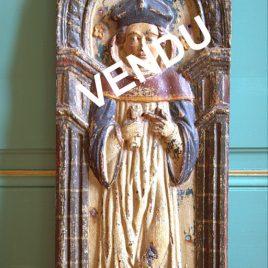 Panneau de bois saint Yves