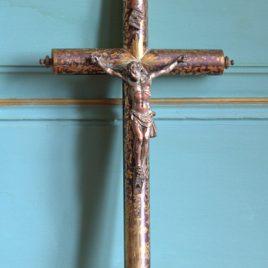 Christ sur croix tubulaire